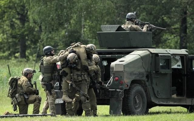 В Польше начались масштабные военные учения