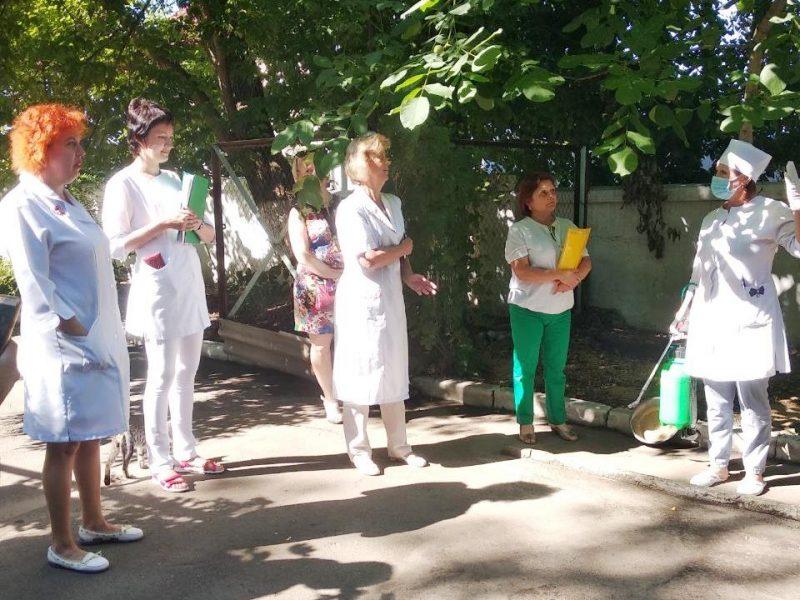 В Николаевской инфекционной больнице провели учения на случай холеры (ФОТО)
