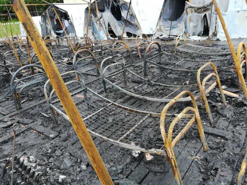 В Хабаровском крае сгорел детский лагерь – 4 ребенка погибли (ВИДЕО)