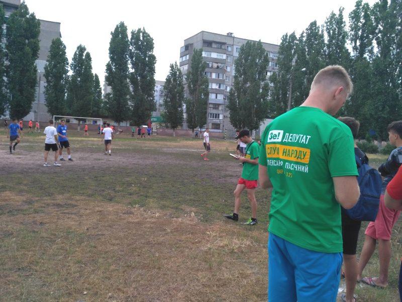 В Николаеве кандидат от «Слуги народа» использовал свою должность для агитации (ФОТО)