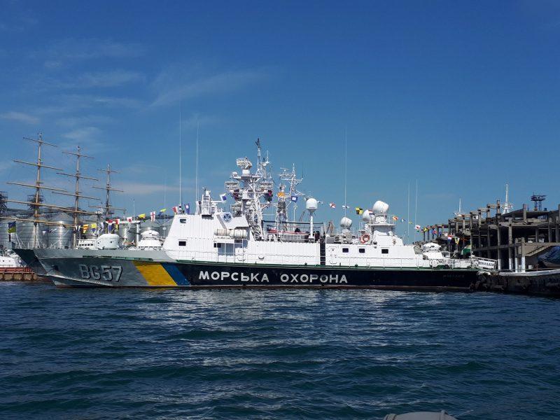 31 год на страже морских границ. Свой день рождение отметил корабль морской охраны «Николаев» (ФОТО)