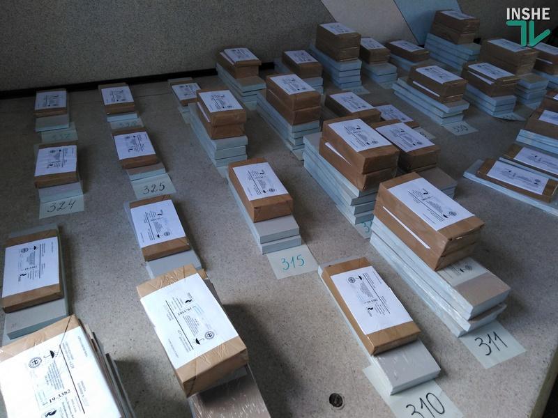 На Николаевщине участковые избирательные комиссии начали получать бюллетени для голосования на парламентских выборах (ФОТО, ВИДЕО)