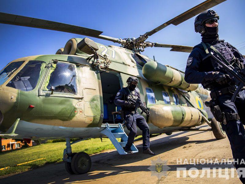 В Нацполиции впервые на дежурство заступили группы сводных отрядов авиаподдержки – они будут реагировать на нарушения в день голосования (ФОТО, ВИДЕО)