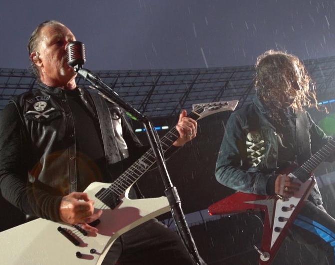 Россиянин в розыске не смог пропустить концерта Metallica и был задержан