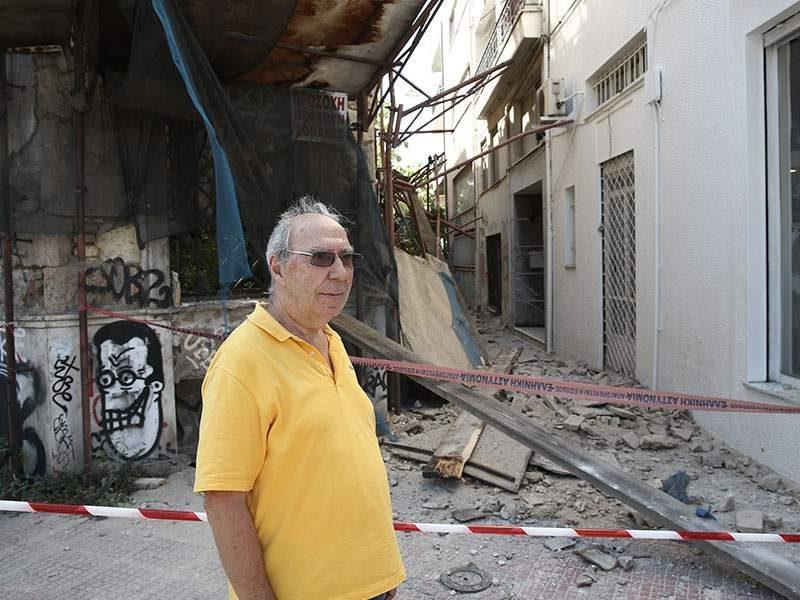 Землетрясение в Афинах – разрушены здания, четверо пострадавших (ФОТО, ВИДЕО)