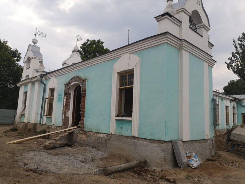 Строители обещают завершить ремонт Николаевского шахматного клуба в срок – в декабре этого года (ФОТО)
