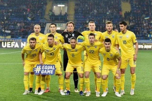 Украина завершила год на 24 месте в рейтинге ФИФА