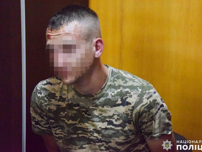 В Николаеве задержали военнослужащего, который грабил женщин (ВИДЕО, ФОТО)