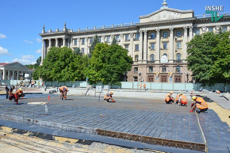 Работы на Соборной площади в Николаеве могут вот-вот остановиться из-за отсутствия финансирования (ФОТО, ВИДЕО)