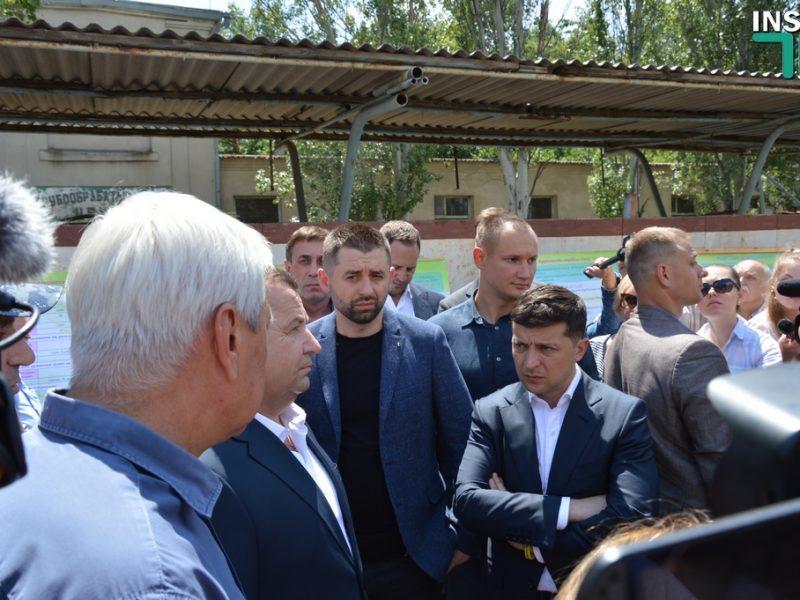 В Николаеве Полторак предложил Зеленскому поменять подрядчика строительства корветов (ФОТО, ВИДЕО)