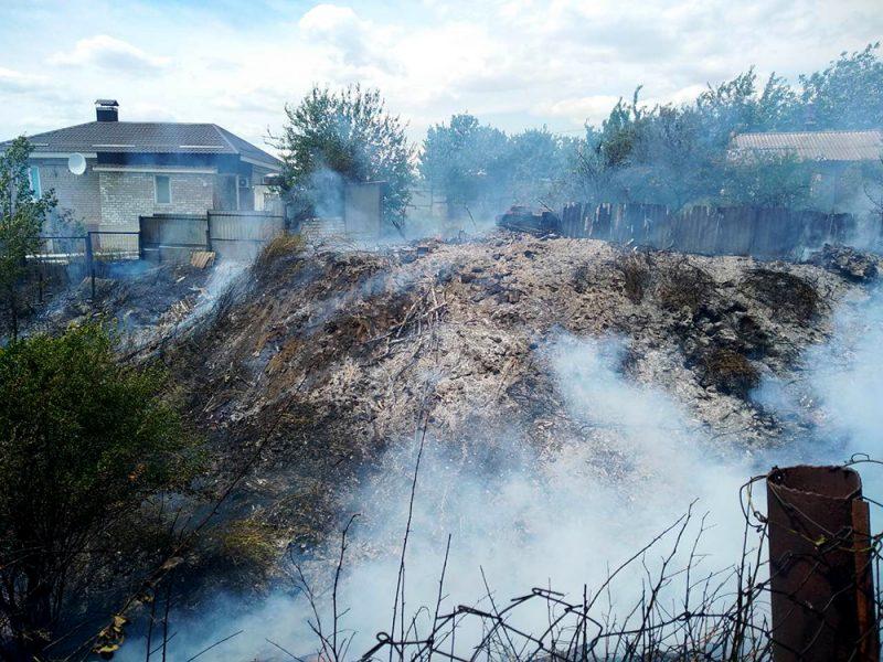 Продолжаем гореть: на Николаевщине выгорело 28 га открытых территорий (ФОТО)