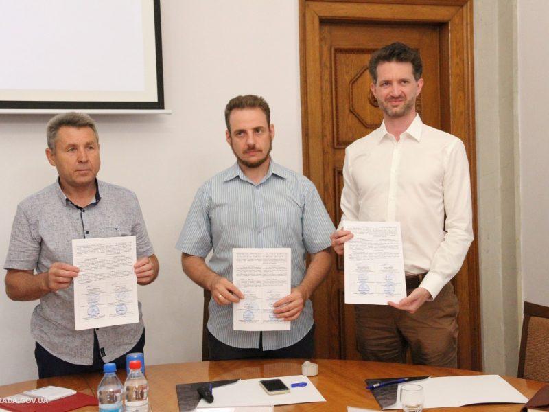 Николаевский горсовет подписал меморандум с благотворительным фондом Stabilization Support Services (ФОТО)
