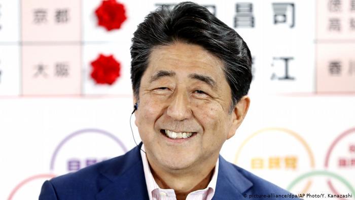 В Японии тоже прошли парламентские выборы. Правящая коалиция потеряла конституционное  большинство
