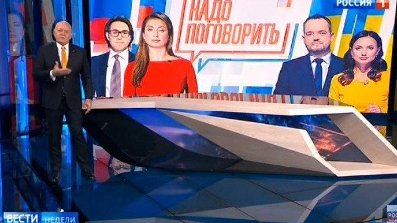Связанный с Медведчуком канал NewsOne проведет телемост с пропагандистским Россия1