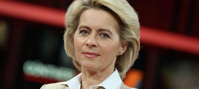 Министр обороны Германии стала новым претендентом на пост главы Еврокомиссии