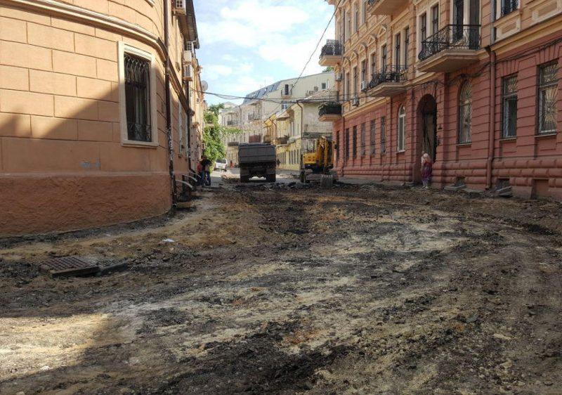 В Одессе старым улицам возвращают брусчатку