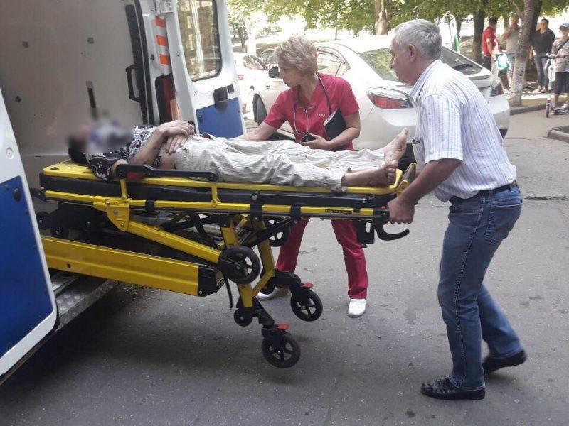 В Южноукраинске из окна многоэтажки выпал 39-летний мужчина (ФОТО)