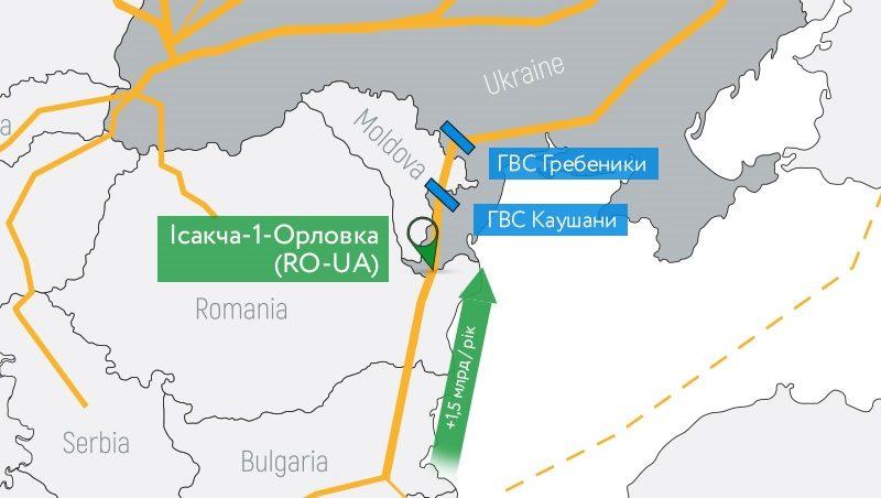 Укртрансгаз и Молдовагаз готовят новый маршрут импорта газа из Румынии