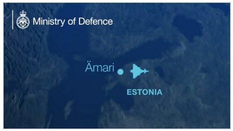 Британские истребители поднялись в небо для перехвата двух российских «сушек»