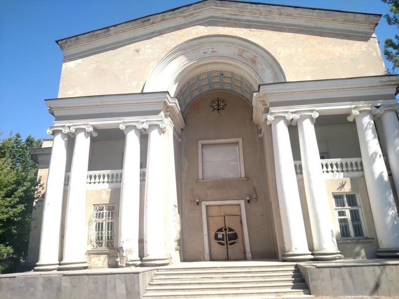 Цена бывшего культурного центра  морпорта в Николаеве на  ProZorro.Продажі выросла на 10 000 процентов