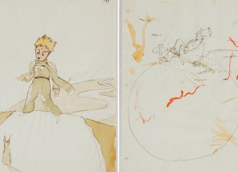 В Швейцарии нашли ранние эскизы к книжке «Маленький принц» Антуана де Сент-Экзюпери
