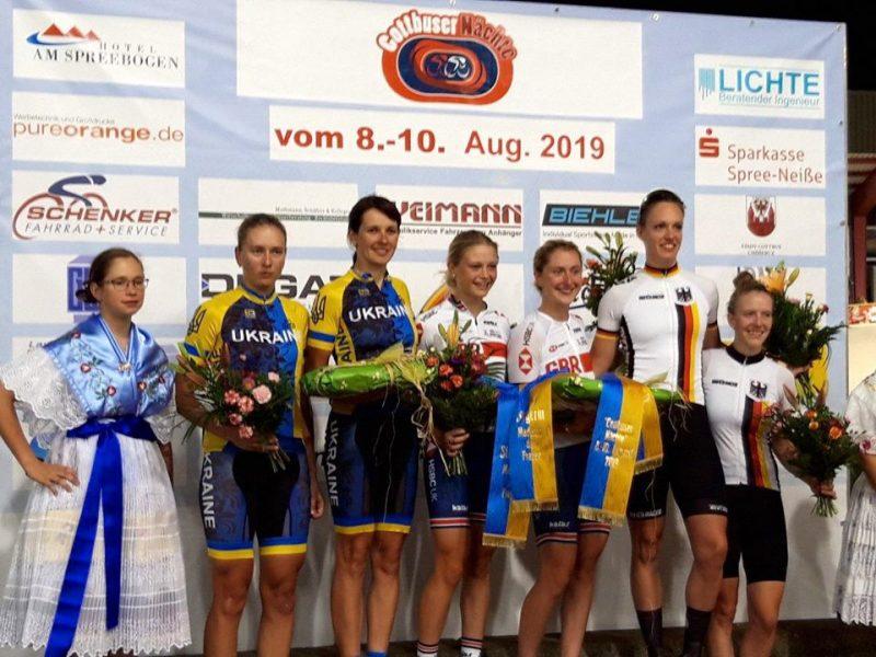 Николаевские велогонщицы добыли «серебро» международного турнира в Германии (ФОТО)