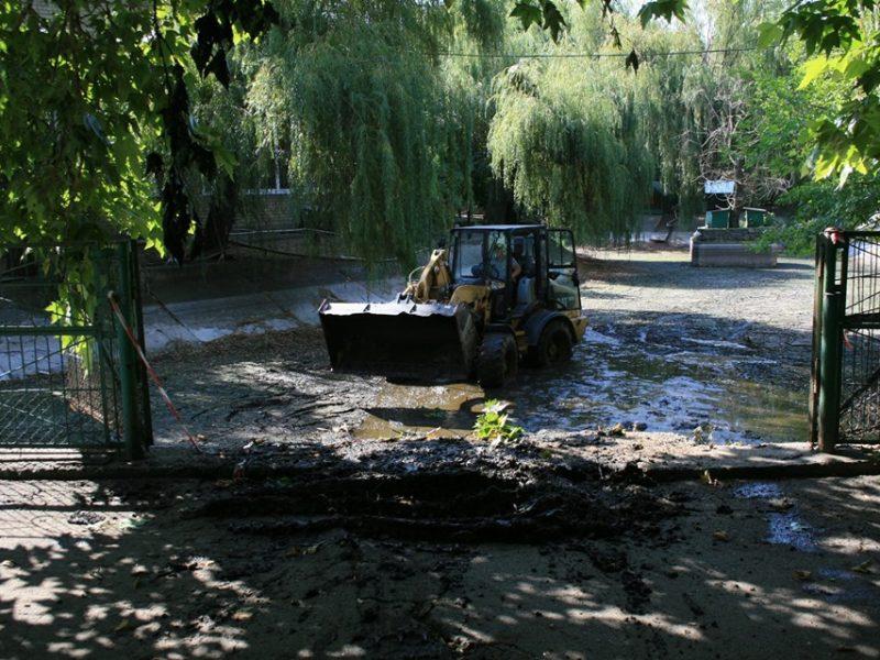 В Николаевском зоопарке началась операция «Чистые пруды» (ФОТО)