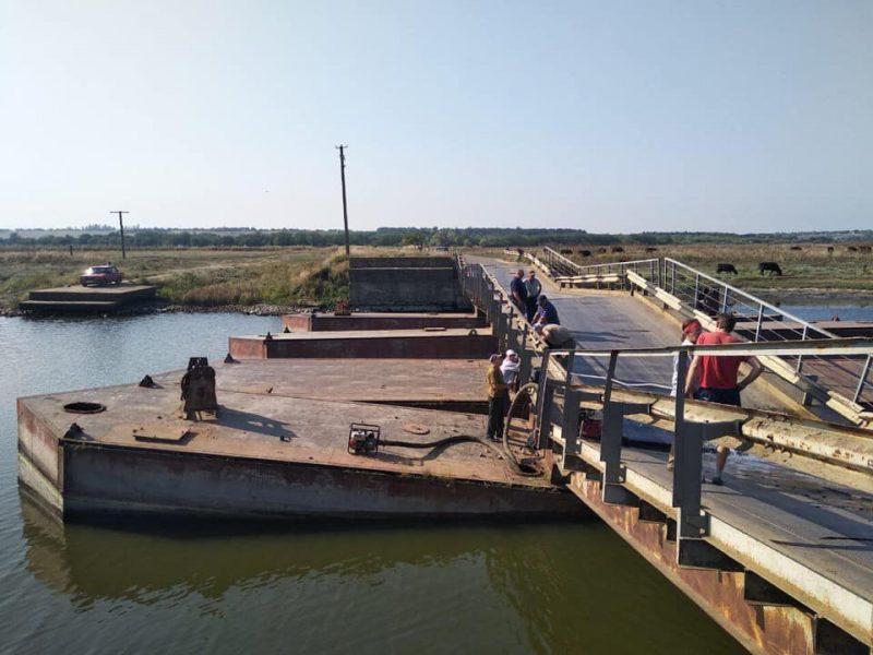 Депутат Николаевского облсовета купил понтонный мост для Снигиревского района, но не может добиться прямого разрешения на установку (ВИДЕО)