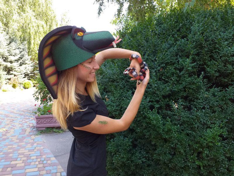 Николаевский зоопарк познакомил горожан с милыми змеями (ФОТО)