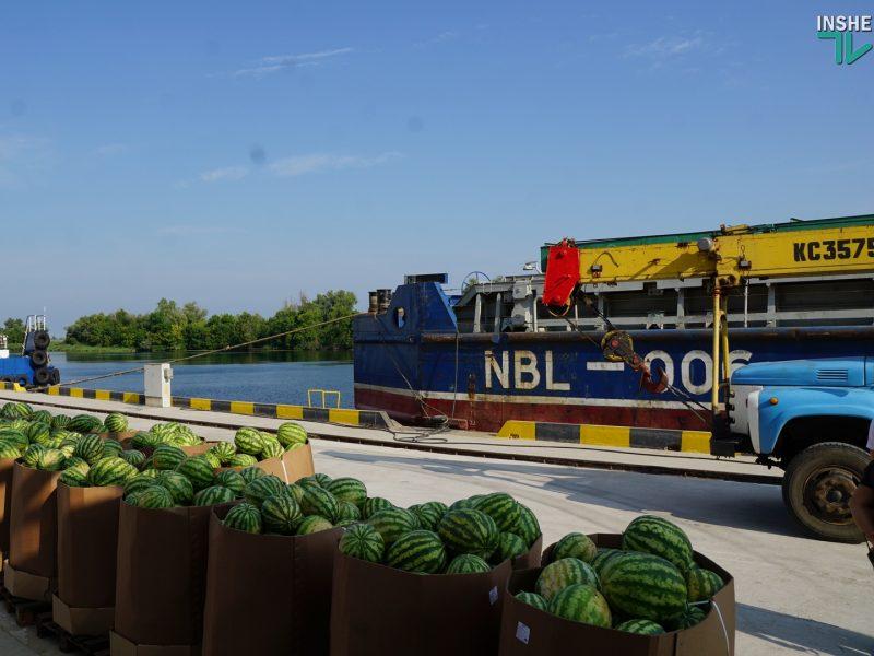 Будет ко Дню Независимости в Киеве. Нибулоновское судно с арбузами уже в пути (ФОТО, ВИДЕО)