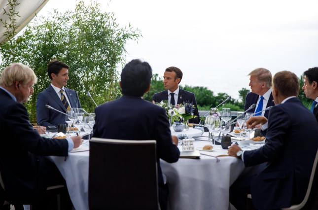 """Лидеры G7 обсудили возвращение России в """"Большую восьмерку"""""""