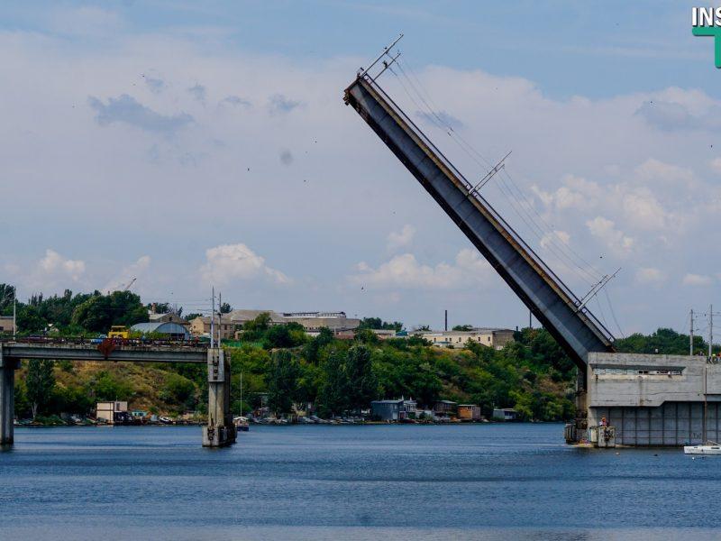 Во вторник в Николаеве разведут три моста