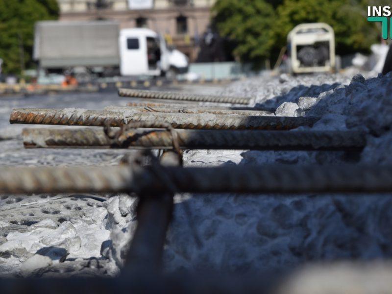 Реконструкция Соборной площади: Подрядчик получил 34,5 миллиона, работы идут по графику (ФОТО, ВИДЕО)