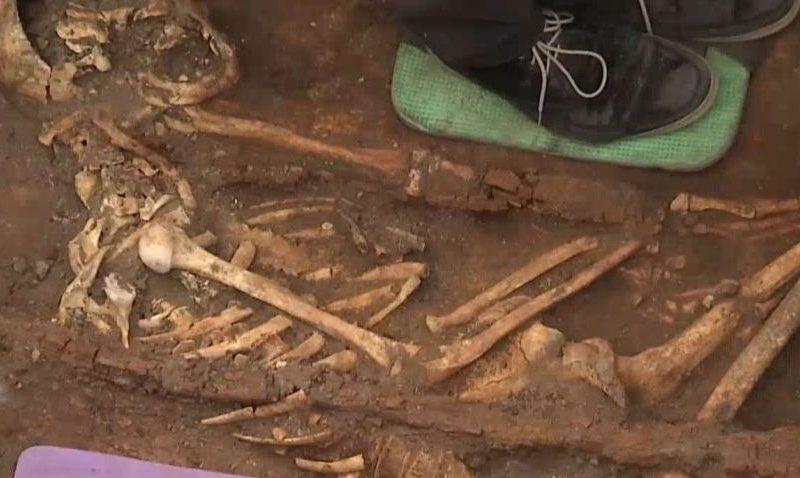 Под трассой «Николаев – Кропивницкий» нашли захоронения времен библейского Моисея (ВИДЕО)