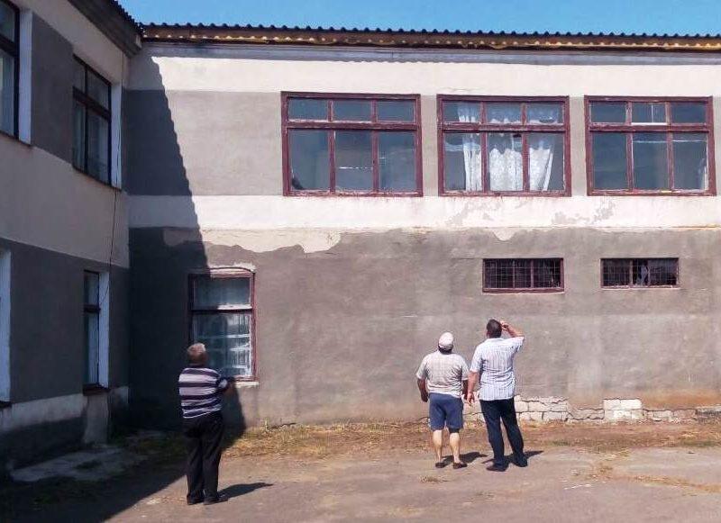 В Кривоозерском районе восстановили поврежденную ураганом крышу школьного спортзала (ФОТО)