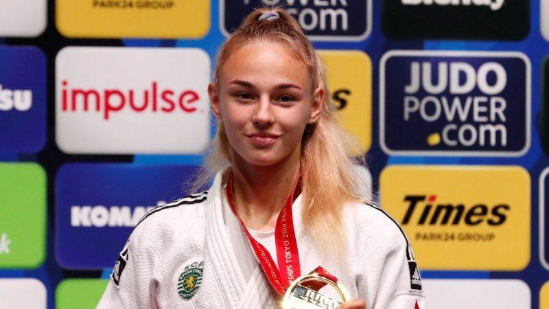 Украинка завоевала золото на чемпионате мира по дзюдо