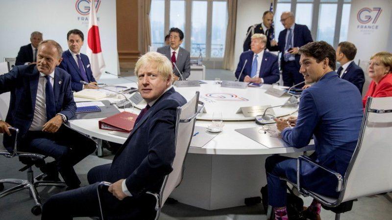 Находящийся под санкциями США глава МИД Ирана неожиданно прибыл на саммит G7