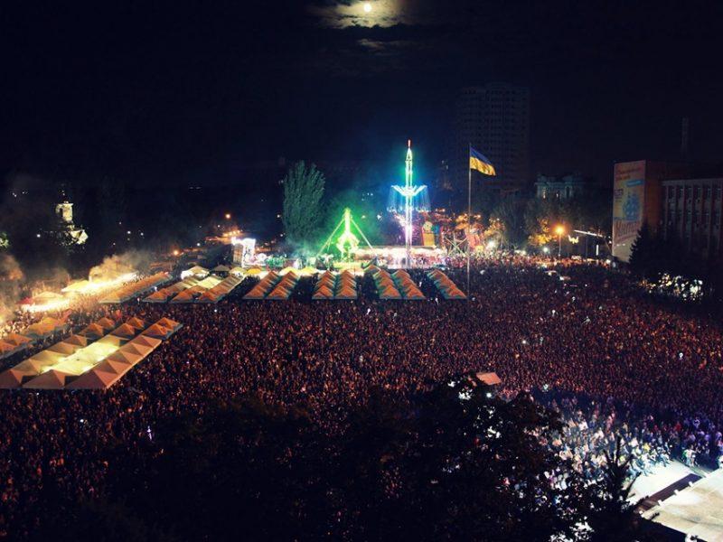 На вечерний концерт в честь Дня города Николаева пришло 50 тысяч горожан (ФОТО)