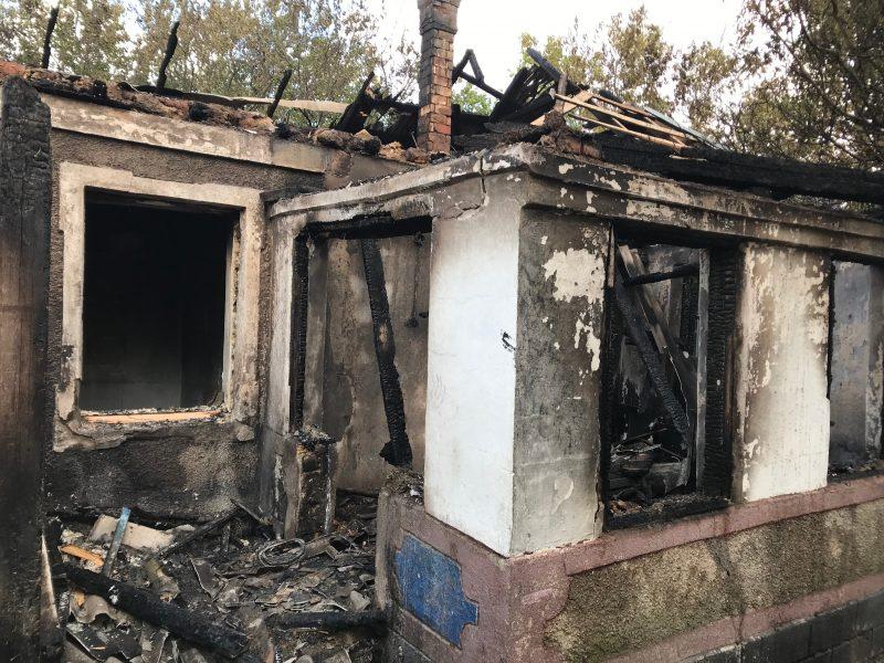 На Николаевщине за сутки тушили три жилых дома и летнюю кухню (ФОТО)