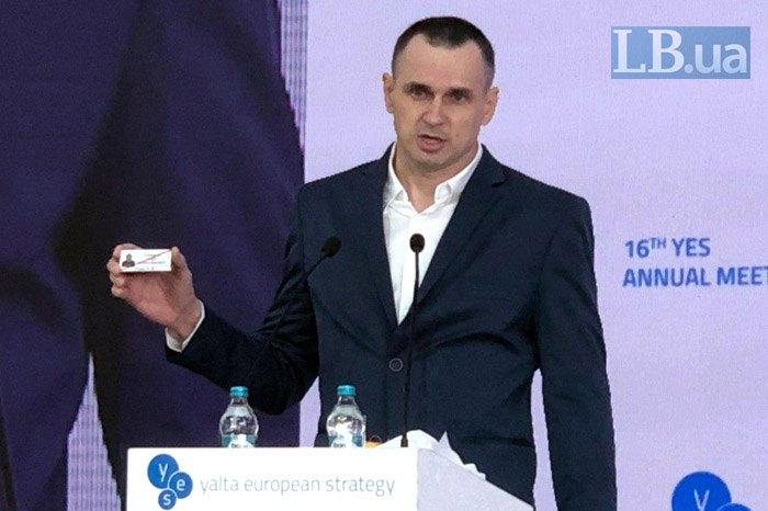 Сенцов выступит на Форуме свободной России в Вильнюсе