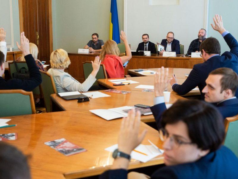 Избран временный состав совета по свободе слова и защите журналистов при президенте Украины