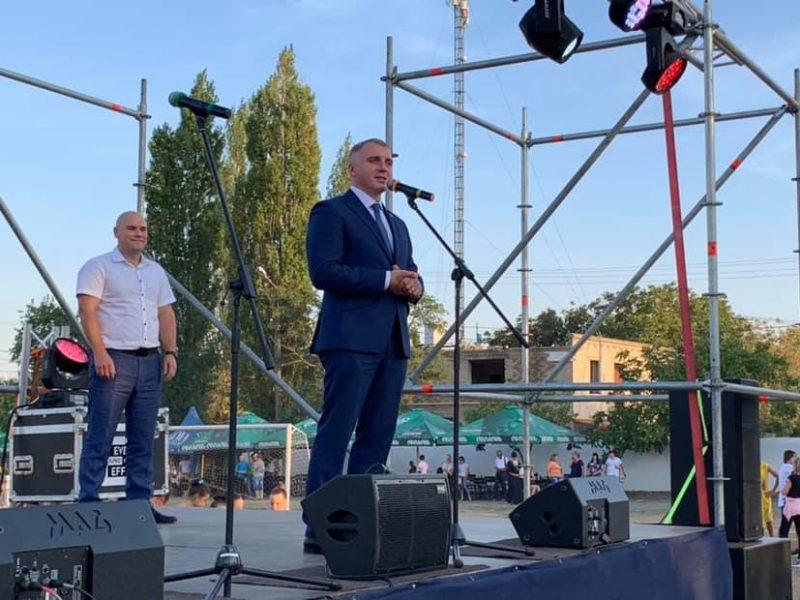 Сенкевич объявил о подписании договора на строительство дюкера в Варваровке (ФОТО)
