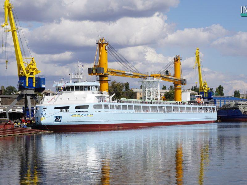 Николаев – не бандитский город. На «НИБУЛОНе» построили уникальное 140-метровое судно «NIBULON MАХ» (ФОТО, ВИДЕО)