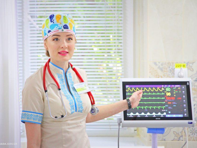 В Николаевской городской больнице №4 после ремонта открыли отделения анестезиологии и интенсивной терапии (ФОТО)