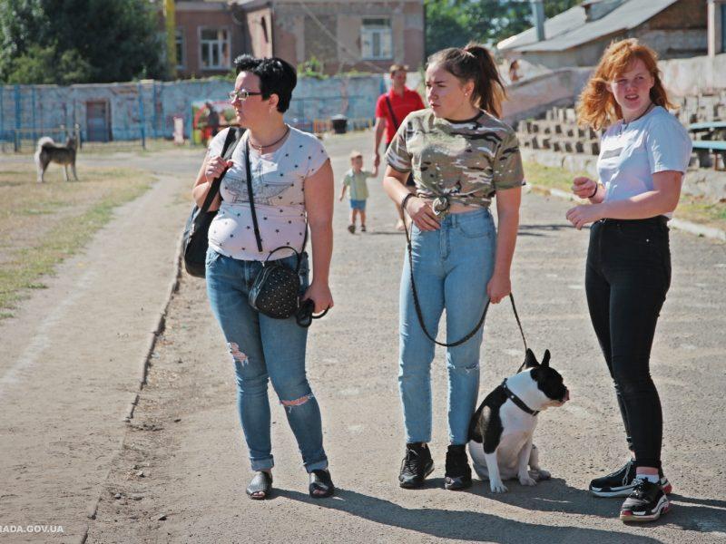 В Николаеве прошла международная выставка собак, приуроченная ко Дню города (ФОТО)