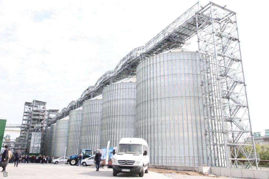 В Николаеве при участии корейской компании Posco International открыли зерновой терминал (ФОТО) 1