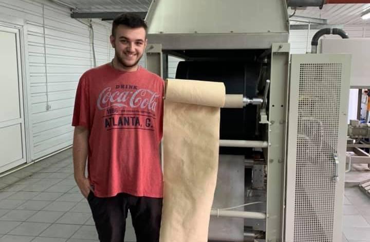 Технология закарпатского изобретателя по производству бумаги из опавших листьев успешно прошла испытания