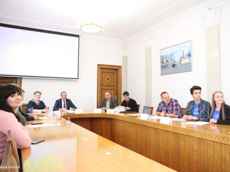В Николаеве презентовали онлайн-платформу для волонтеров «Лига волонтеров»