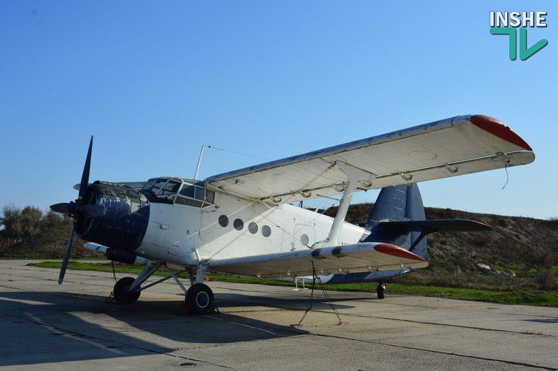 В Николаеве бригаде морской авиации адвокат подарил самолет (ФОТО, ВИДЕО)