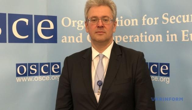 После разведения на Донбассе должен состояться вывод всех иностранных войск – представитель Украины в ОБСЕ